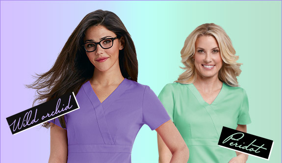 Your favorite Grey's Anatomy styles in exclusive new colors!