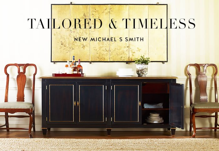 Tailored & Timeless ~ New Michael S Smith