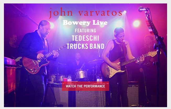 The Tedeschi Trucks Band Perform at Bowery Live