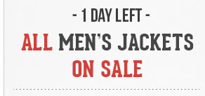 All Mens Jackets on Sale