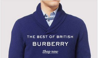 The Best of British: Burberry. Shop now