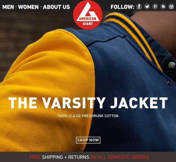 Limited Release: Men's Varsity Jacket