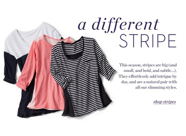 a different stripe | Shop Stripe
