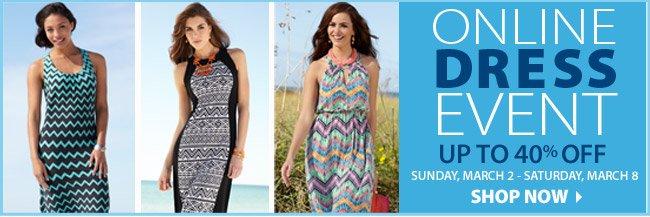 Online Dress Event