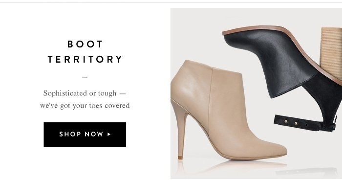 Boot Territory - Shop Now