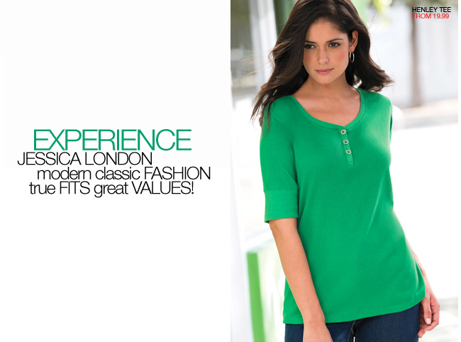 experience jessica london - modern classic fashion, true fits, great values - shop now
