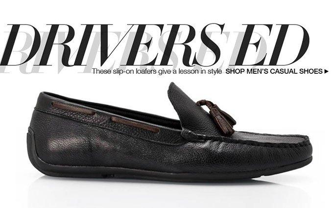 Shop Drivers- Men.