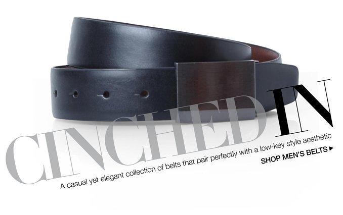 Shop Casual Belts- Men.