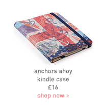 anchors ahoy kindle case