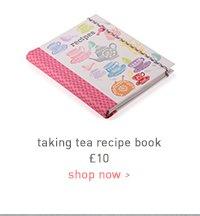 taking tea recipe book