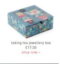taking tea jewellery box