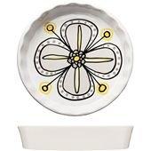 Bloom Pie Plate