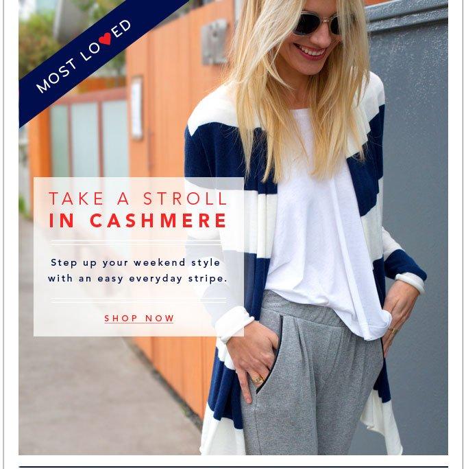Take A Stroll In Cashmere