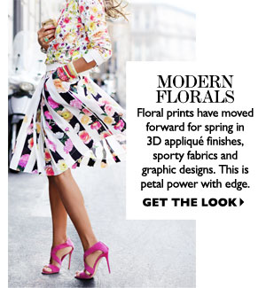 MODERN FLORALS. SHOP NOW