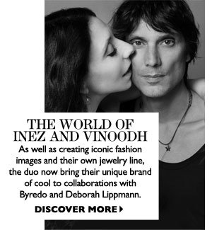 THE WORLD OF INEZ AND VINOODH. SHOP NOW