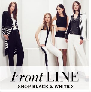 SHOP BLACK AND WHITE