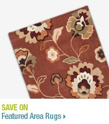 Save on Featured Area Rugs