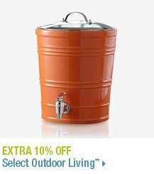 Extra 10% off Select Outdoor Living**