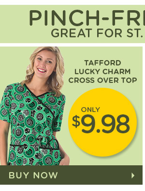 Tafford Lucky Charm Cross Over Top - Buy Now
