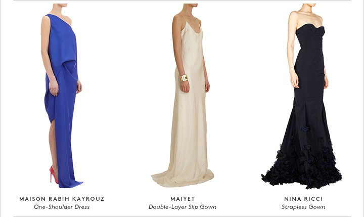 Whether you're walking that red carpet or watching from your couch, everyone needs a major fashion moment.