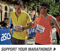 Start now and Support your Marathoner - Promo B