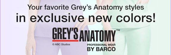 Shop Grey's Anatomy