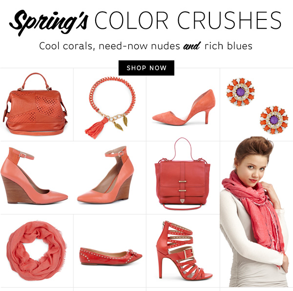 Spring's Color Crushes