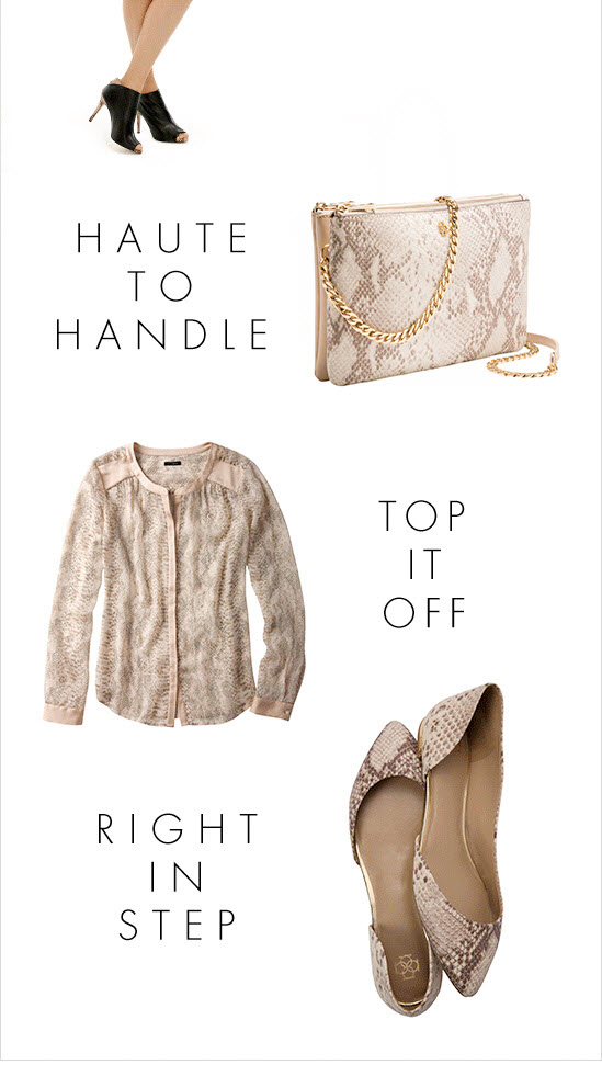 Haute To Handle Top It Off Right In Step