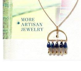 More artisan jewelry.