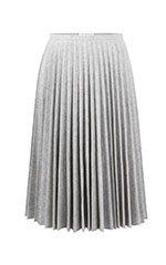 Light Grey Ten Pleat Skirt