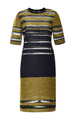 Etrusco Acid and Navy Stripe Tee Dress