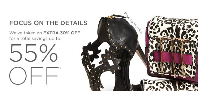 Up to 55% off Shoes & Handbags