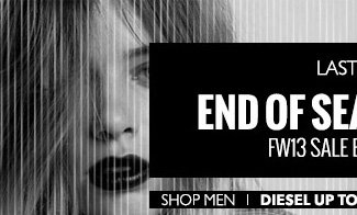 LAST DAY. End of Season Sale. Shop Men.