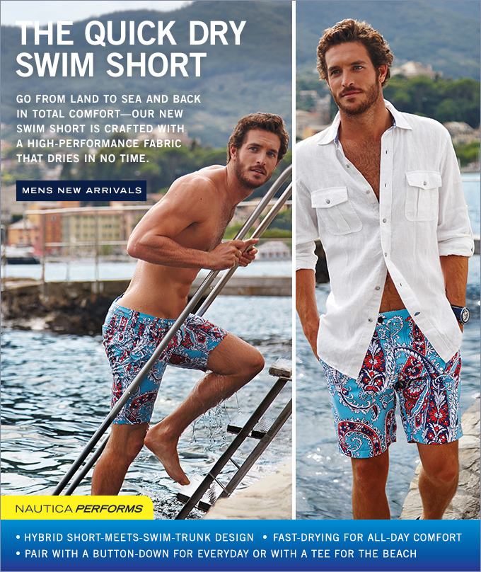 The Quick Dry Swim Short