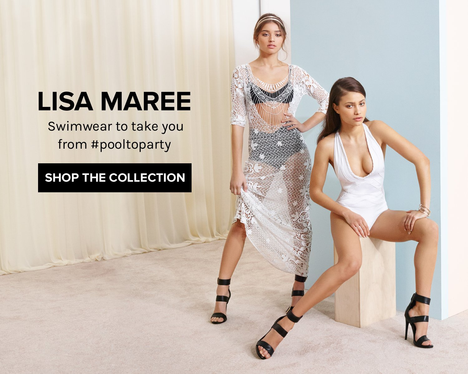Lisa Maree. Swimwear to take you from #pooltoparty. SHOP THE COLLECTION!