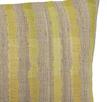 Saffron Stripe 24 in x 16 in Pillow