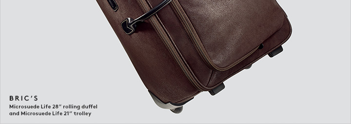 Style to go: Shop luggage and more men's accessories now.