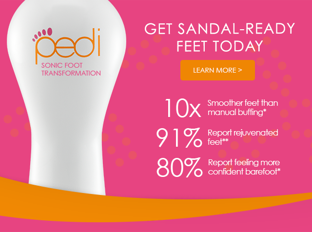 Get Sandal Ready Feet Today