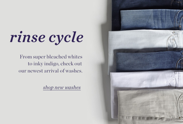rinse cylce | Shop new washes