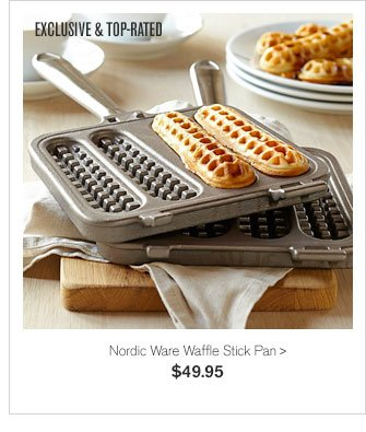 EXCLUSIVE & TOP-RATED - Nordic Ware Waffle Stick Pan - $49.95
