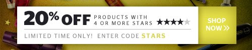 20% Off 4 Star Products