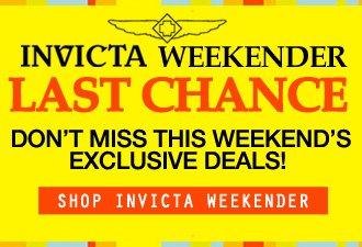 Invicta Weekender Last Chnace
