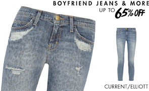 BOYFRIEND JEANS & MORE - UP TO 65% OFF