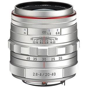 Adorama - Pentax HD DA 20-40mm F2.8-4 ED Limited DC WR Zoom Lens - Silver