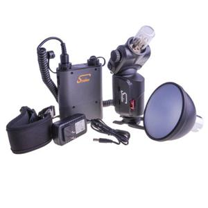 Adorama - Interfit STR200 Strobies Pro-Flash 180 W/s Flash Kit with Li-Ion Battery Pack