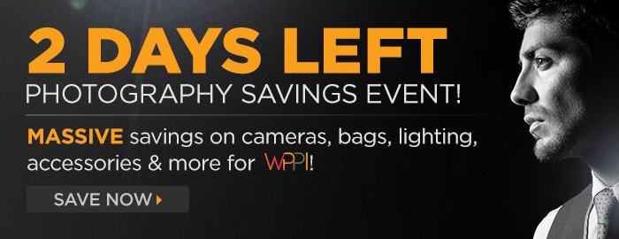 Adorama - 2 Days Left For WPPI Sale!