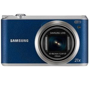 "Adorama - Samsung WB350F Smart Digital Camera, 16.3MP, 21x Optical Zoom, 3"", Blue"