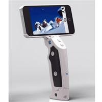 Adorama - Grip & Shoot Bluetooth Smart Grip for iPhone 5/5S & 4S, White
