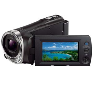 Adorama - Sony HDR-PJ340 16GB Full HD Handycam Camcorder with Built-in Projector
