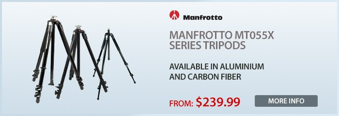 Adorama - Manfrotto Tripods New Release